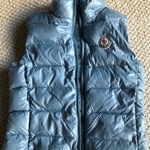 Moncler Girls Vest Size 8 100% authentic